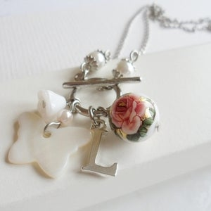 Image of Personalised Memento Charm Necklace