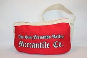 Image of The San Fernando Valley Mercantile Co. Newspaper Boy Canvas Bag Deluxe Edition in Vintage Wash