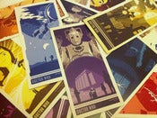 Image of Doctor Who Art Card Set