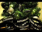 Image of Black Autumn In Disguise Wristband