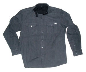 Image of Autumn'atic woven flannel *charcoal