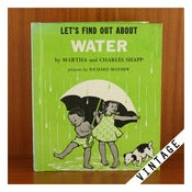Image of LET'S FIND OUT ABOUT WATER Vintage Book