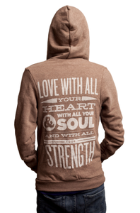 Image of Tri-Blend Strength Hoodie