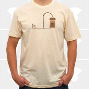 Image of Minimalist Habitat - Cream - Mens T-Shirt 
