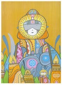 Image of Muju Cosmic Guardian Print