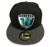"Image of WORCESTER SHARKS ""TEAM FLANNEL"" NEW ERA FITTED"