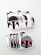 Image of Vinyl BOBA-SLOTH Series Sticker Pack