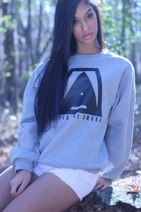 Image of After The Smoke Crewneck (Heather Grey)