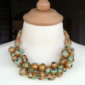 Image of anne cluster necklace