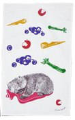 Image of Tea towel - hottie wombat