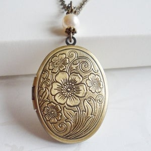 Image of Regal Locket Necklace