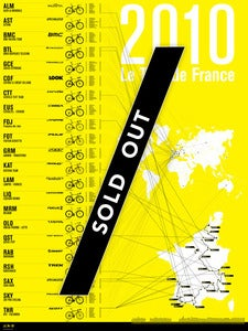 Image of 2010 Tour de France Print