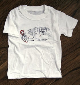 Image of KIDS Little Red Riding Hood tee (white)