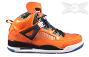 Image of Jordan Spizike Knicks Orange Flash