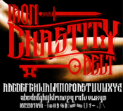 Image of IRON THRONE CUSTOM FONT