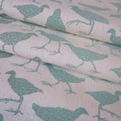 Image of Waterhen - Ocean on hemp/organic cotton