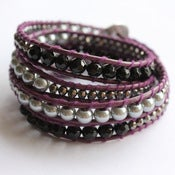 Image of Purple Wrap Bracelet