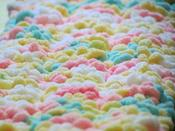 Image of Candy Shoppe Dreams Baby Blanket Crochet Pattern