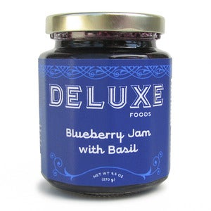 Image of Blueberry Jam with Basil
