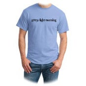 Image of Green Light Morning T-shirt Light Blue