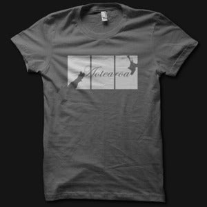 Image of Womens Trypt Tee - Charcoal