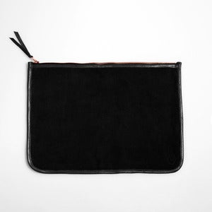 Image of LARGE CLUTCH - Black