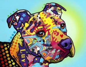 Image of Pitbull LUV PRINT