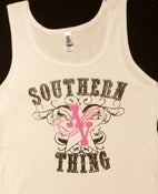 "Image of Women's ""Southern Thing"" Tank"