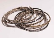 Image of Gunmetal Bangle Set