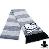 Image of HELLO KITTY ANGRY FACE SCARF