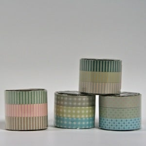 Image of 3 colors set masking tape