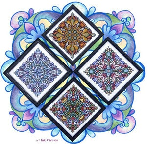 Image of Four Seasonal Mandalas