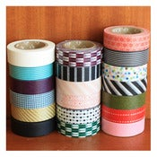 Image of JAPANESE WASHI TAPES