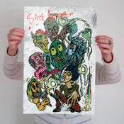 Image of Marc M. with Characters Mini-Poster