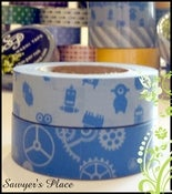 Image of Titus Collection 2 Set Washi Tape - Japanese Masking Tape - 2 rolls - 15m x 15mm