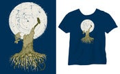 Image of T-Shirt Talitres Blue Navy [Girl]