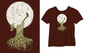 Image of T-Shirt Talitres Brown [Girl]