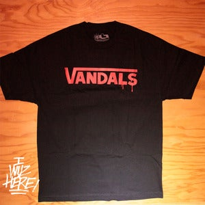 The newest tee shirt from I WUZ HERE! Vandals