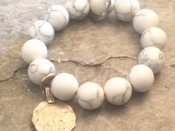 Image of White Stone Bracelet