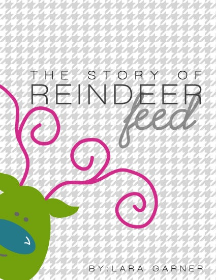 Image of Reindeer Feed-Printable Book