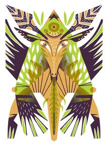 Image of Alebrije Screen Print