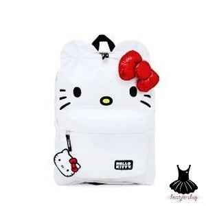 Image of HELLO KITTY SEQUIN BOW BACKPACK
