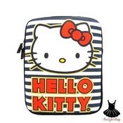 Image of HELLO KITTY STRIPED BOWS IPAD SLEEVE