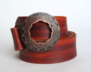 Image of Copper Cog Buckle