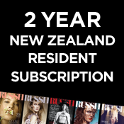 Image of 12 Issue New Zealand Subscription (2 year)