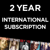 Image of 12 Issue International Subscription (CLOSE TO 30% OFF)