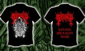 Image of MEMBRO GENITALI BEFURCATOR - Satanic Brutality Mass T-SHIRT (out now)