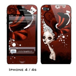 Image of iphone 4/4s skin - &quot;Ermine&quot;