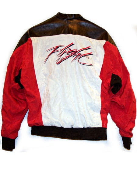Image of RARE VINTAGE NIKE AIR JORDAN FLIGHT JACKET DECONSTRUCTED