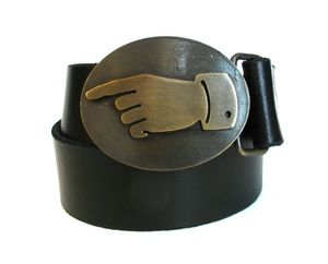 Image of Brass Pointdexter Buckle